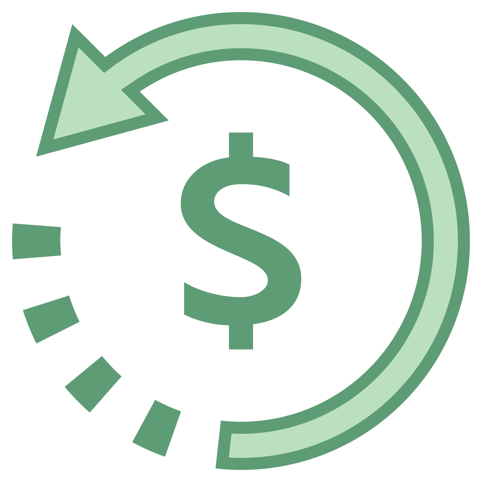 Refund 2 Icon - Refund, Transparent background PNG HD thumbnail