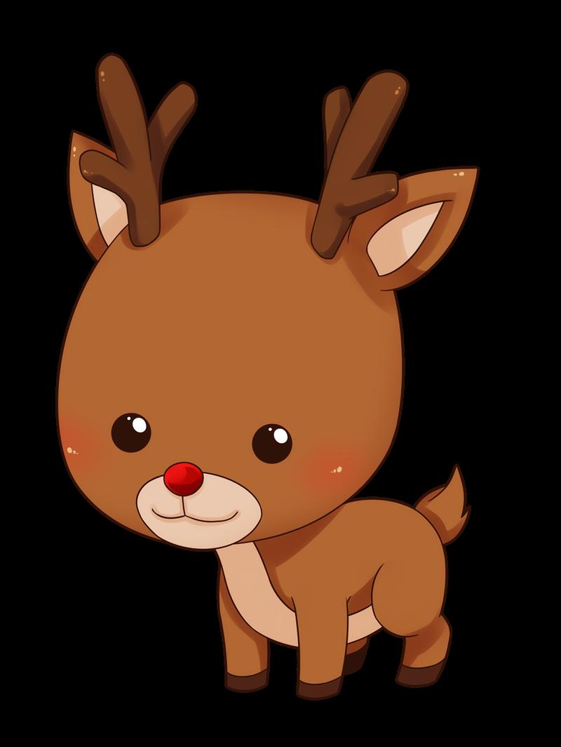 Reindeer Png Clipart - Reindeer, Transparent background PNG HD thumbnail