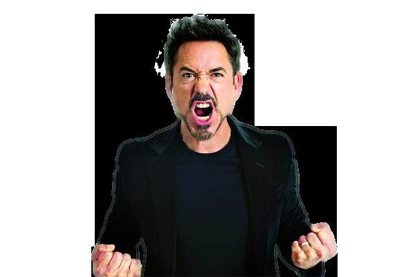 Robert Downey Jr PNG
