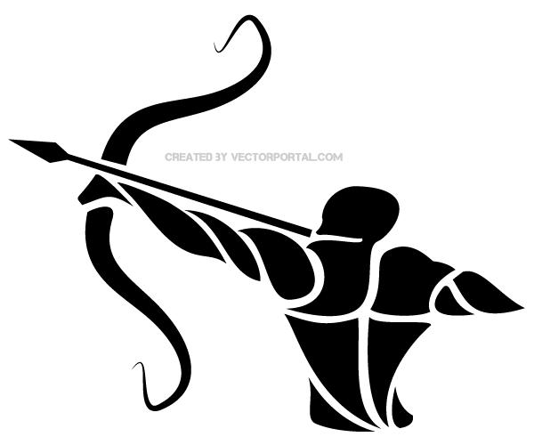 Sagittarius Zodiac Sign Vector Graphics - Zodiac Tattoos, Transparent background PNG HD thumbnail
