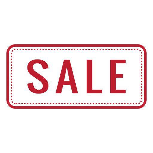 Sale Red Rounded Rectangle Png - Sale, Transparent background PNG HD thumbnail