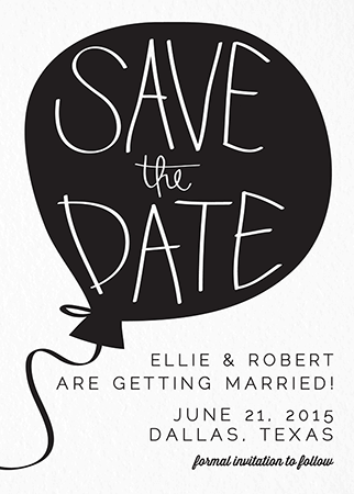 Save The Date Png Black And White Hdpng.com 322 - Save The Date Black And White, Transparent background PNG HD thumbnail