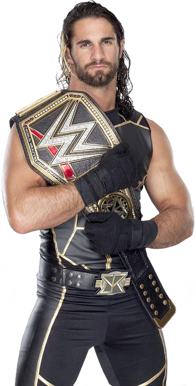 Seth Rollins Wwe World Heavyweight Champion .png - Seth Rollins, Transparent background PNG HD thumbnail