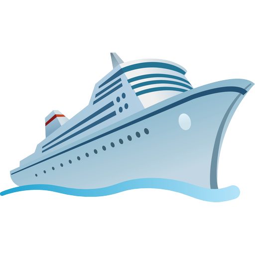 Ship Travel Cruise Tourism Travel Icon Png Ship Png Ship Icon Image #357 - Cruise Ship, Transparent background PNG HD thumbnail