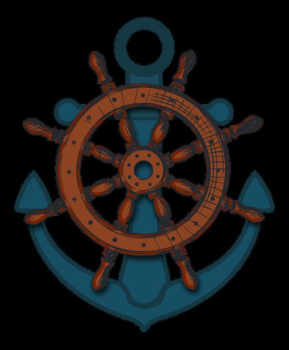 Ships Wheel PNG HD