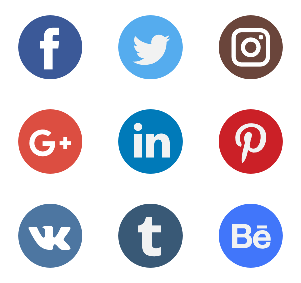 Social Network Logo Collection - Sign Vector, Transparent background PNG HD thumbnail
