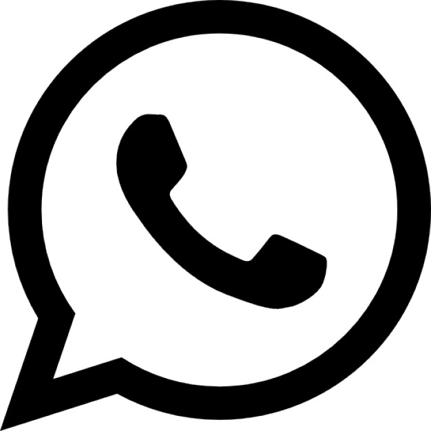 Whatsapp Logo Free Icon - Sign Vector, Transparent background PNG HD thumbnail