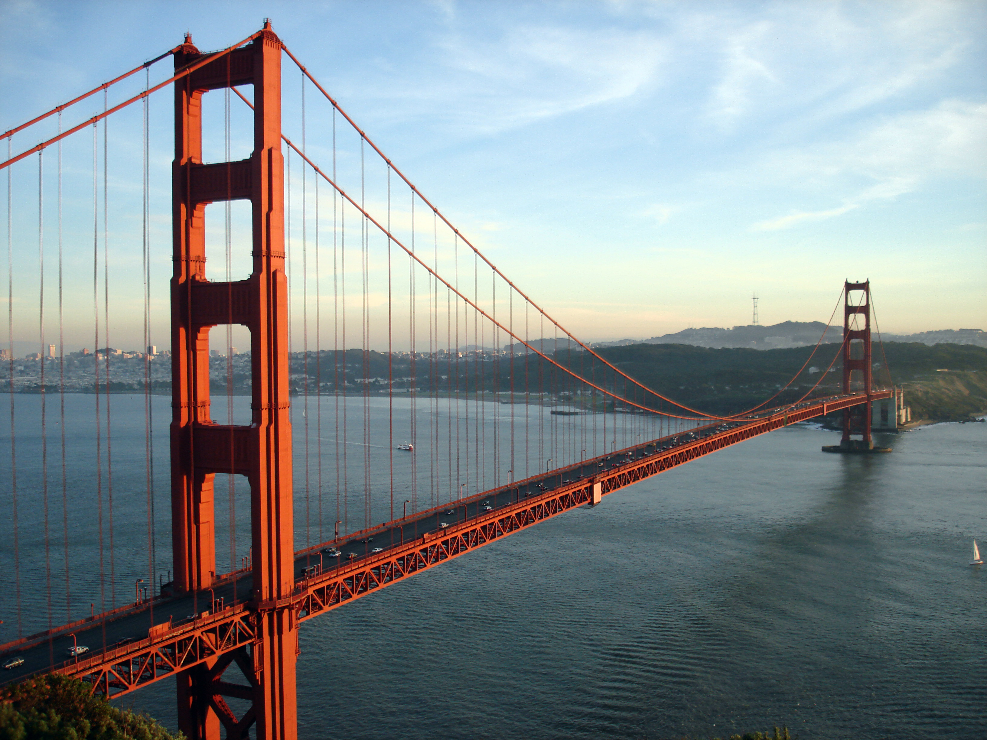 Simple Golden Gate Bridge Png - File:goldengatebridge 001.jpg, Transparent background PNG HD thumbnail