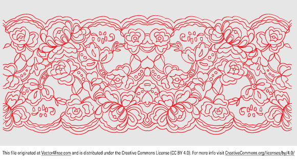 Simple Lace Patterns PNG