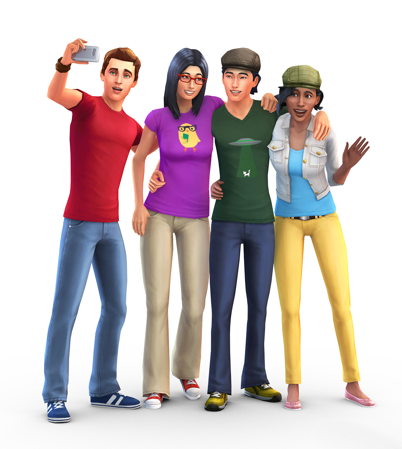 Sims HD PNG