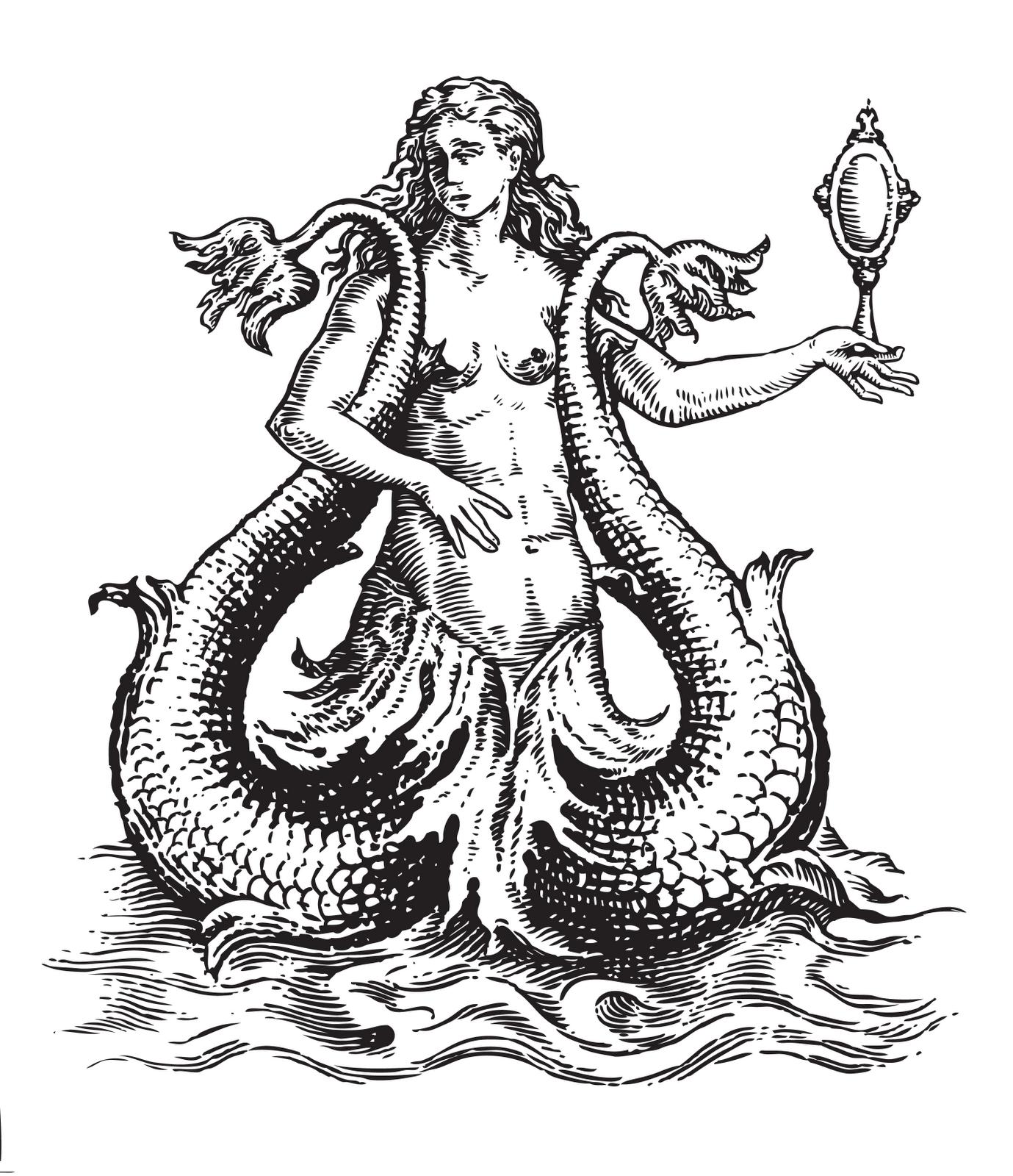 Siren Mythology PNG