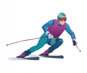 Skiing Png Clipart - Skiing, Transparent background PNG HD thumbnail