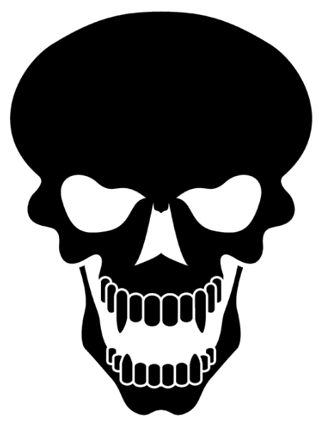 Skull Tattoo Png Clipart Png Image - Skeleton Head, Transparent background PNG HD thumbnail