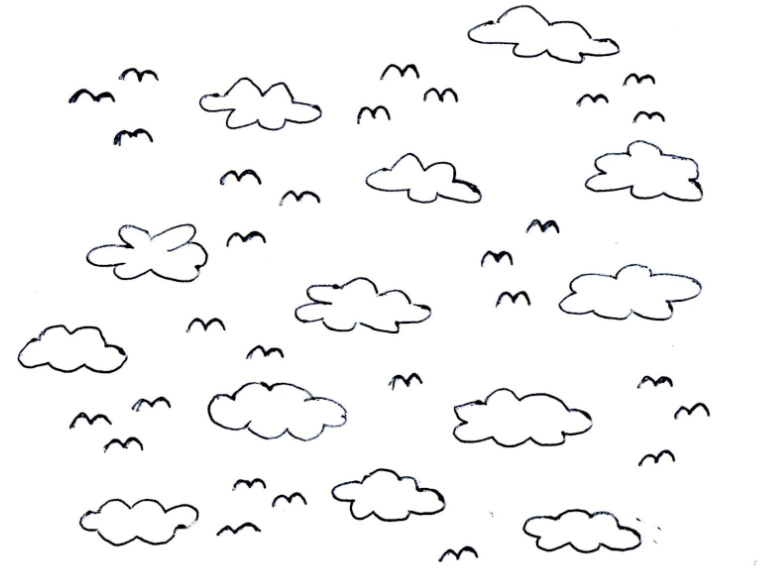 Black Sky Cliparts; Pick Cliparts - Sky Black And White, Transparent background PNG HD thumbnail