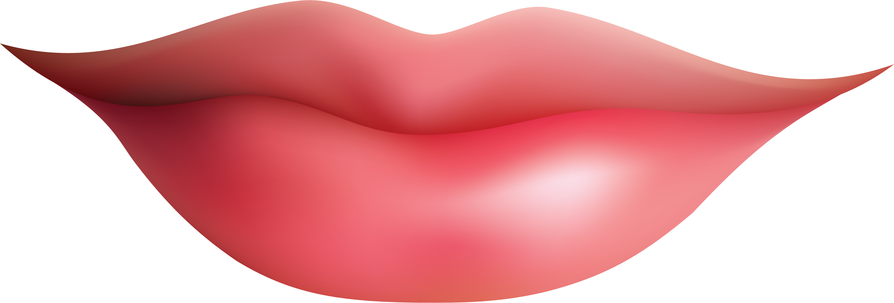 Clipart Lips Clipart Image - Smile Lips, Transparent background PNG HD thumbnail