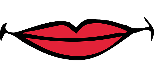 Free Vector Graphic: Lips, Mouth, Smiling, Beauty, Girl   Free Image On Pixabay   48953 - Smile Lips, Transparent background PNG HD thumbnail