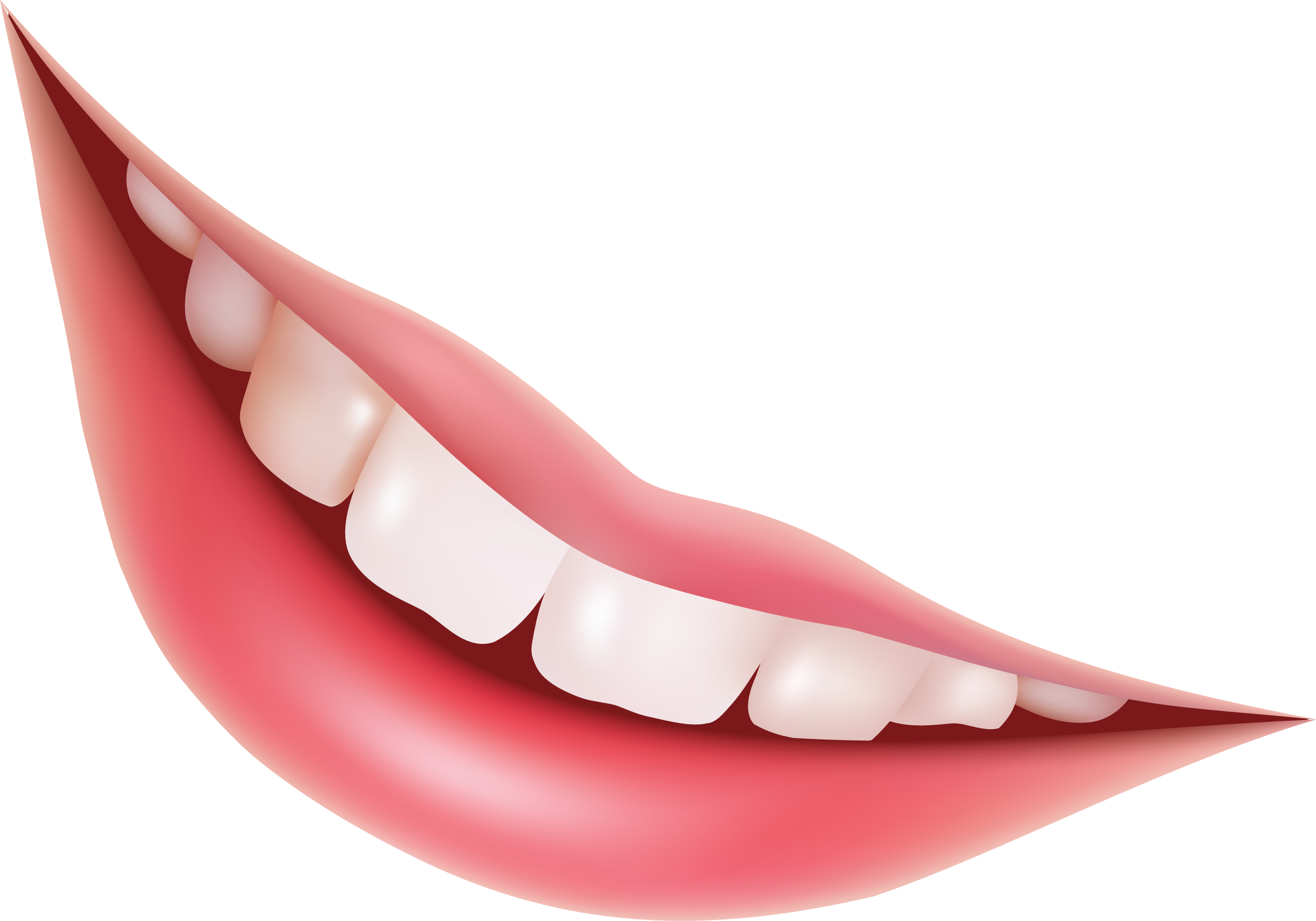 Lips Png Image - Smile Lips, Transparent background PNG HD thumbnail