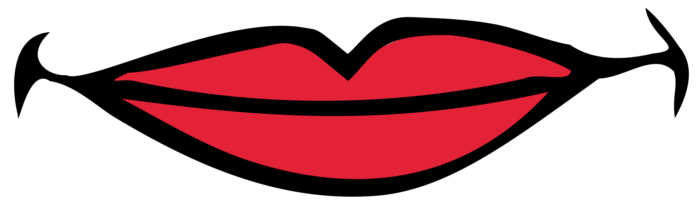 Pin Lips Clipart Mouth Smile #3 - Smile Lips, Transparent background PNG HD thumbnail