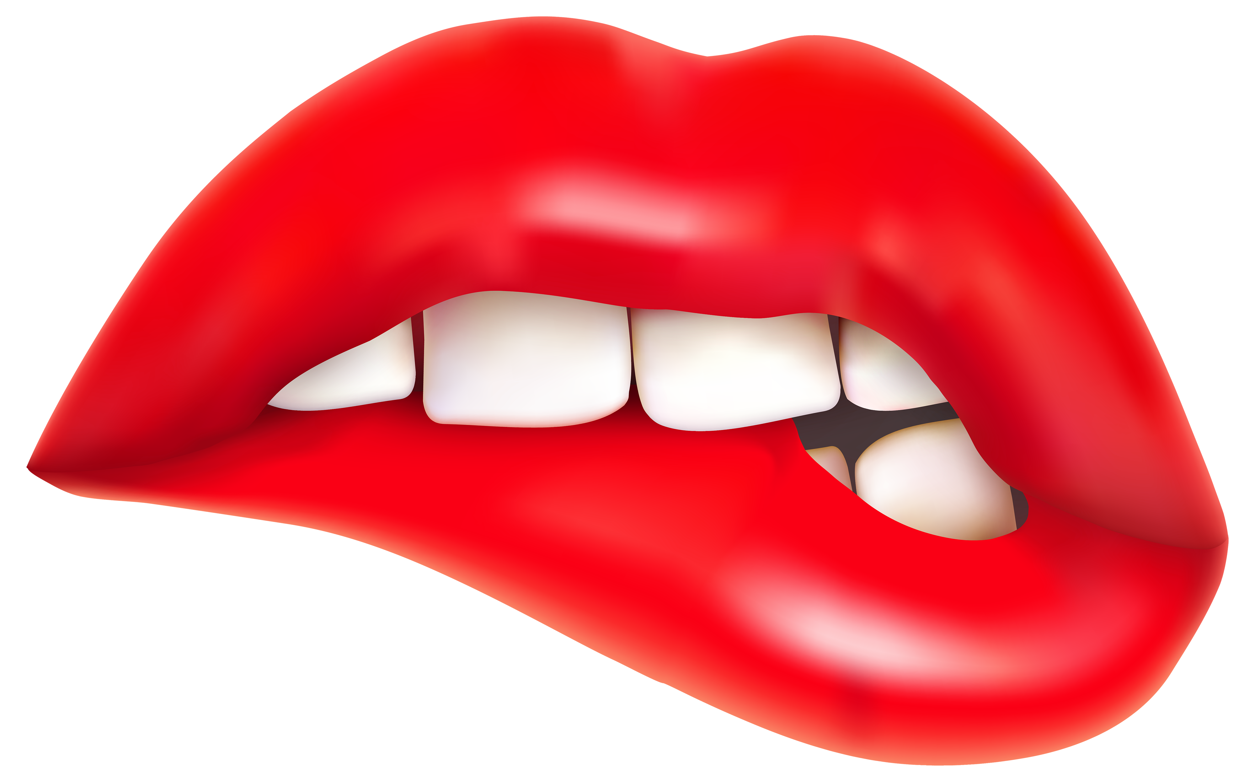 Smile Lips Clipart Free Clipart Images 5 - Smile Lips, Transparent background PNG HD thumbnail
