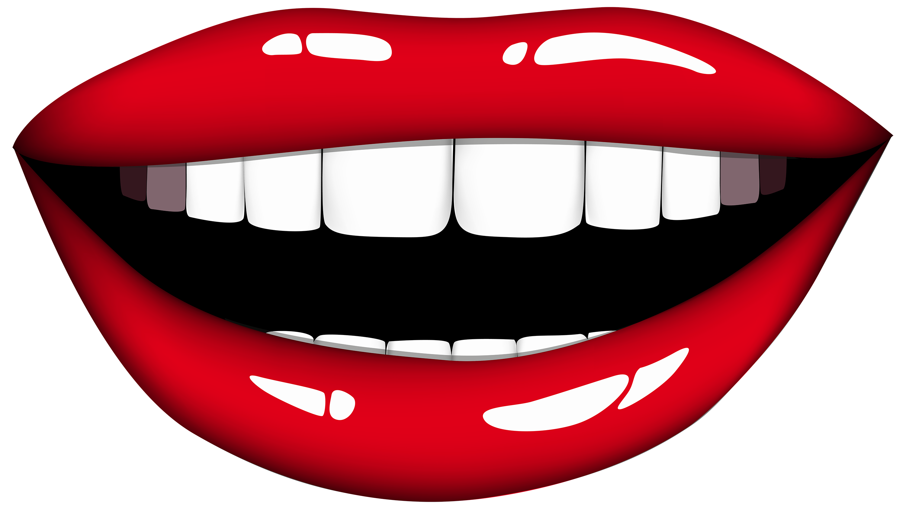 Smile Lips Clipart Free Clipart Images 6 - Smile Lips, Transparent background PNG HD thumbnail