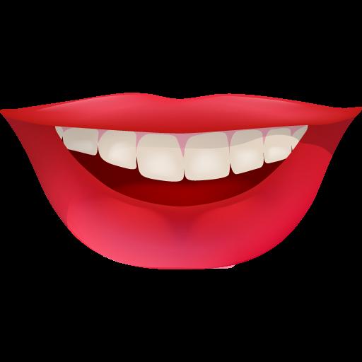 Smiling Lip - Smile Lips, Transparent background PNG HD thumbnail