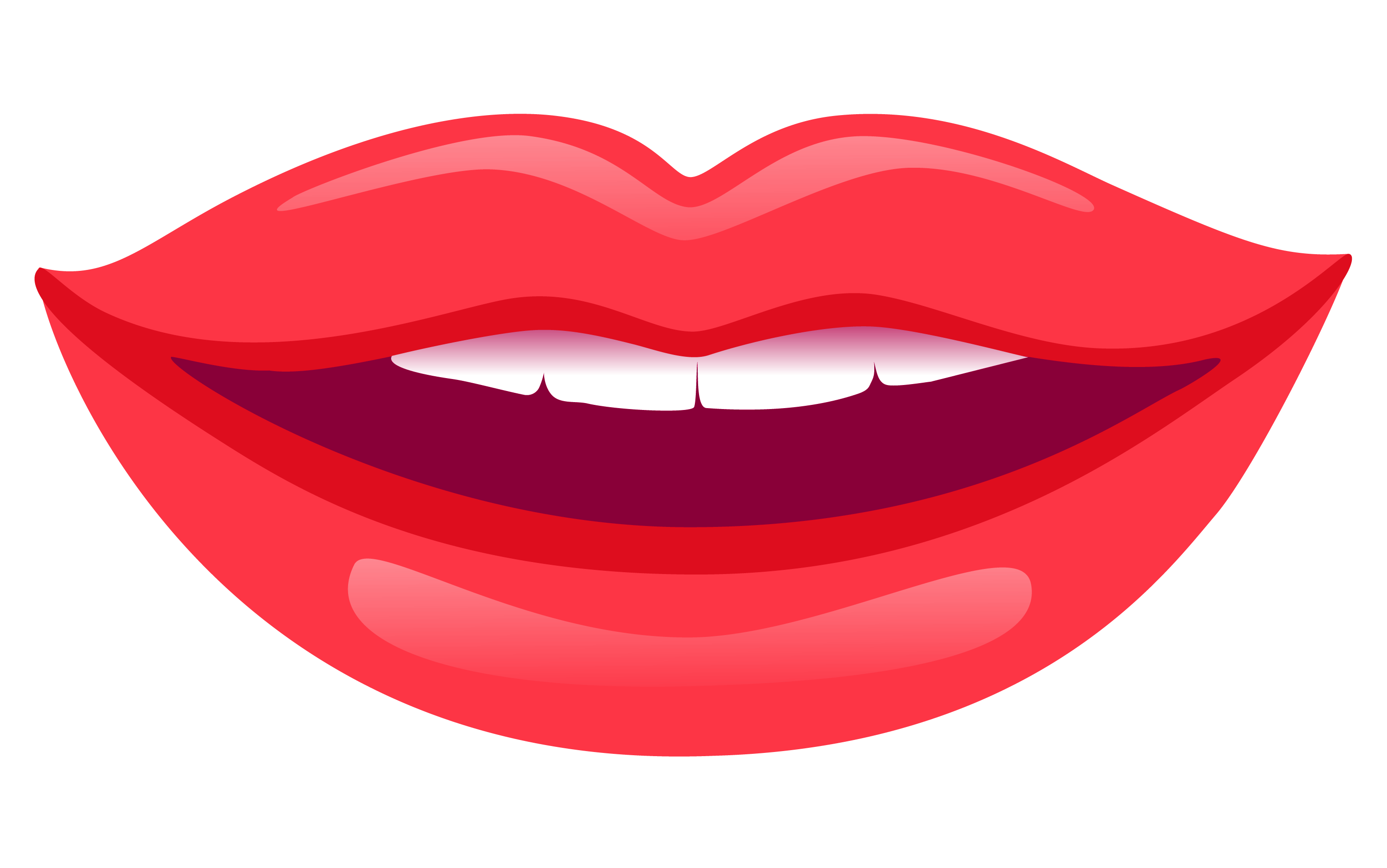 Smiling Lips PNG HD