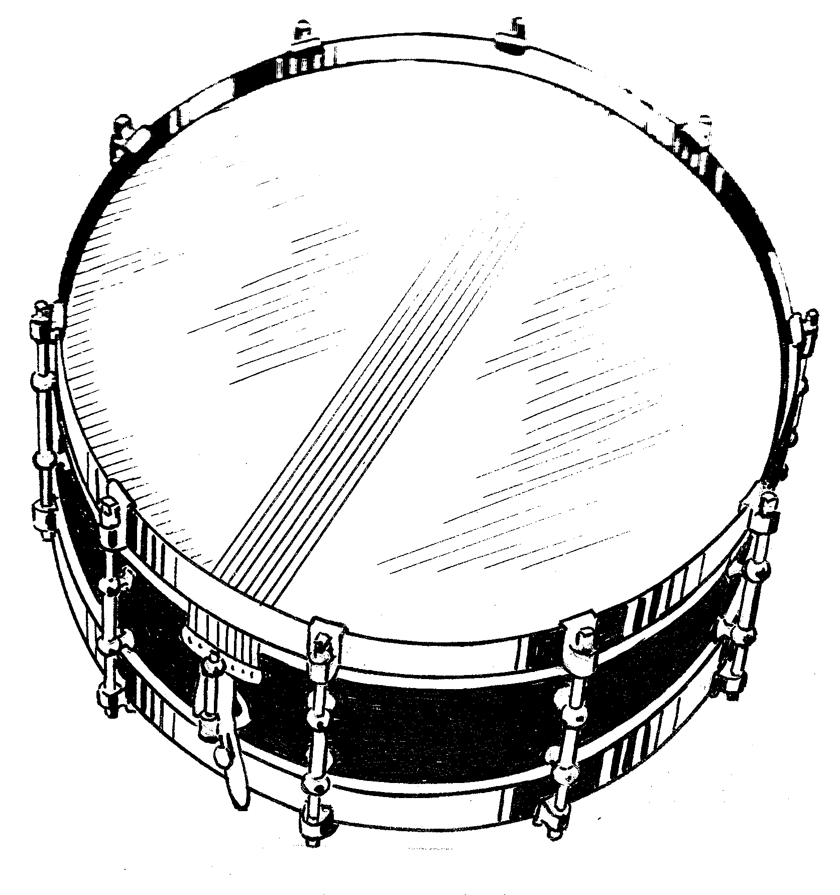 Snare Drum Png Black And White - File:snare Drum (Psf).png, Transparent background PNG HD thumbnail