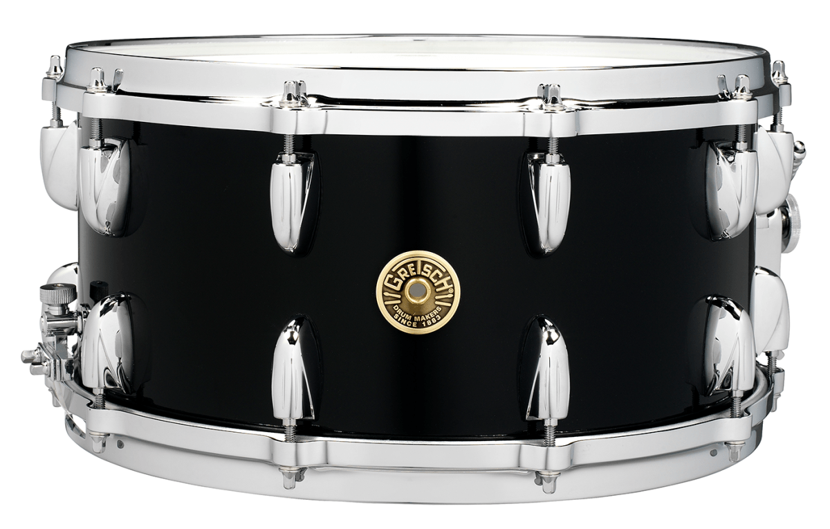 Snare Drum Png Black And White - Gretsch Snare Giveaway, Transparent background PNG HD thumbnail