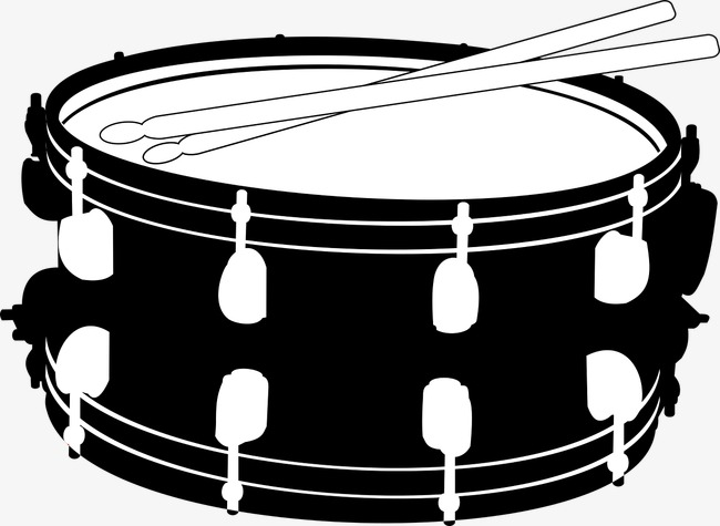 Snare Drum Png Black And White - Percussion Drum, Drumstick, Stick, Music Png Image And Clipart, Transparent background PNG HD thumbnail
