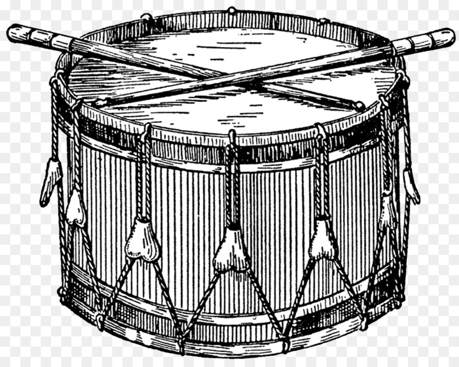 Snare Drum Png Black And White - Snare Drums Marching Percussion Drumline Clip Art   Drum, Transparent background PNG HD thumbnail