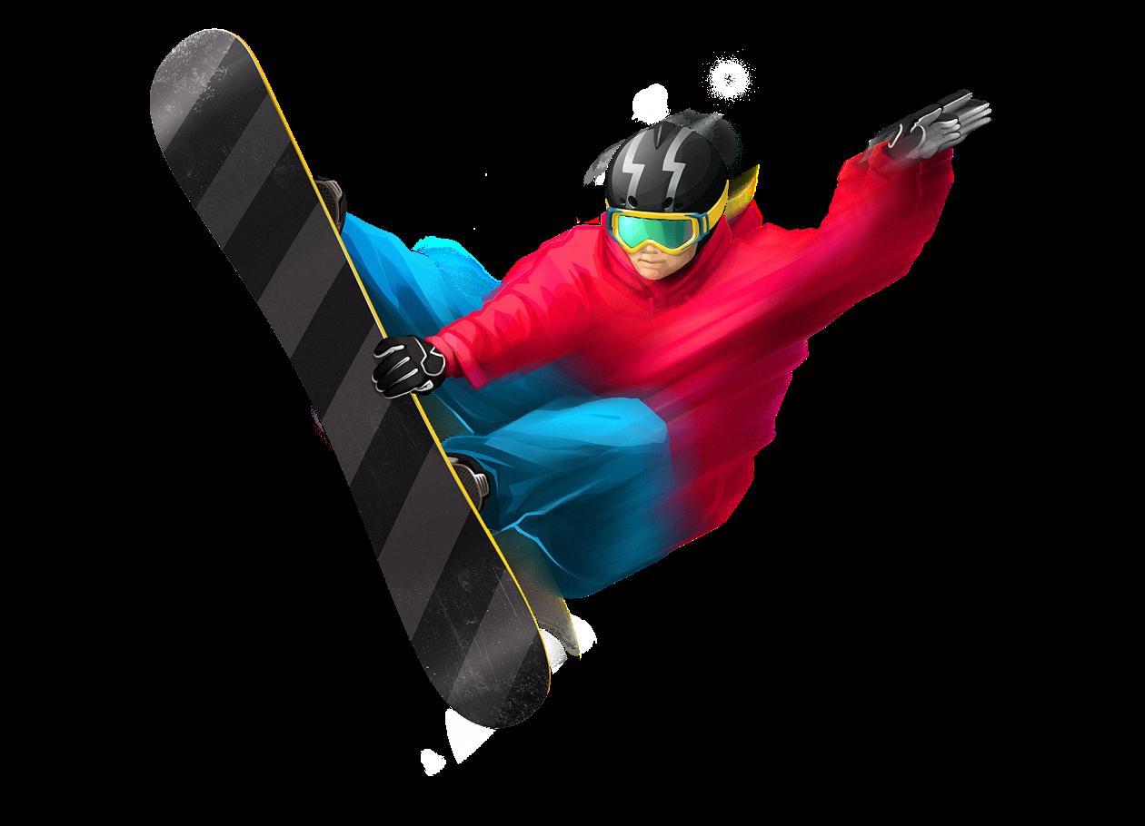 Snowboard Man Png Image - Snowboard, Transparent background PNG HD thumbnail