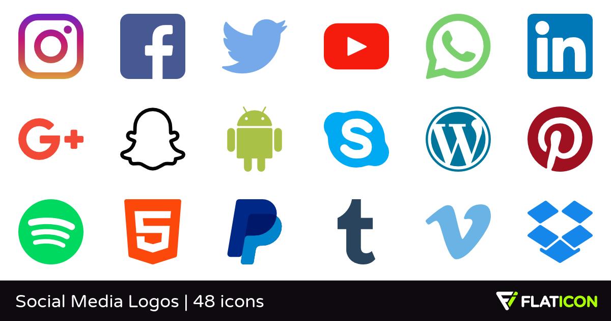 Social Icons PNG