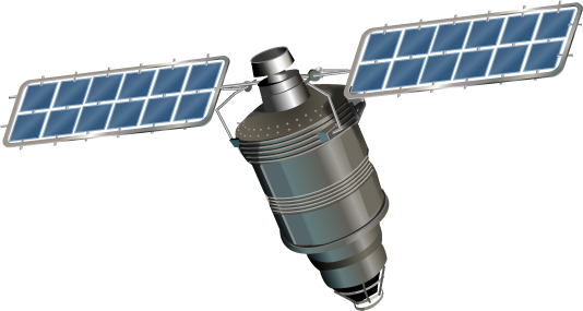 Solar System Satellite Png - Satellite, Transparent background PNG HD thumbnail