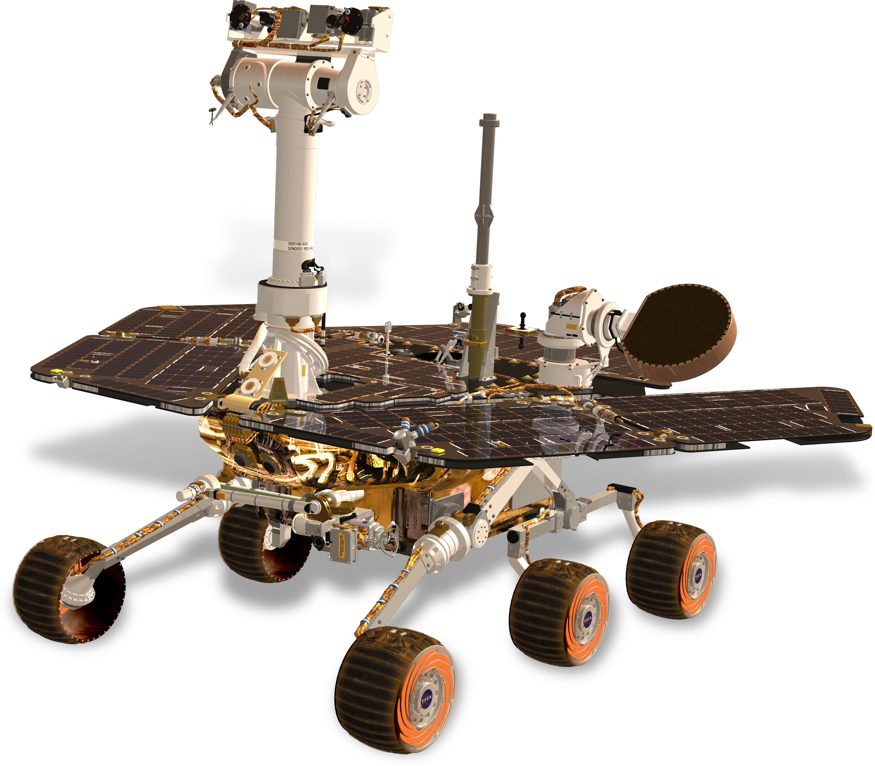 Space Rover PNG