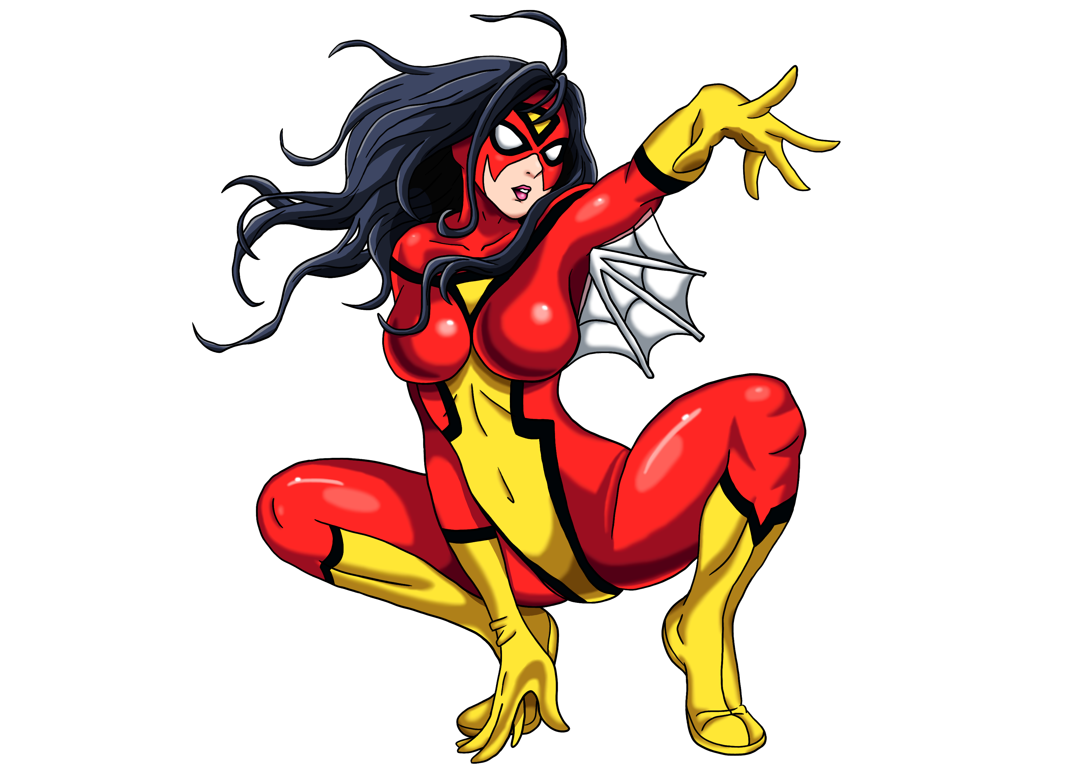 Spider Woman PNG
