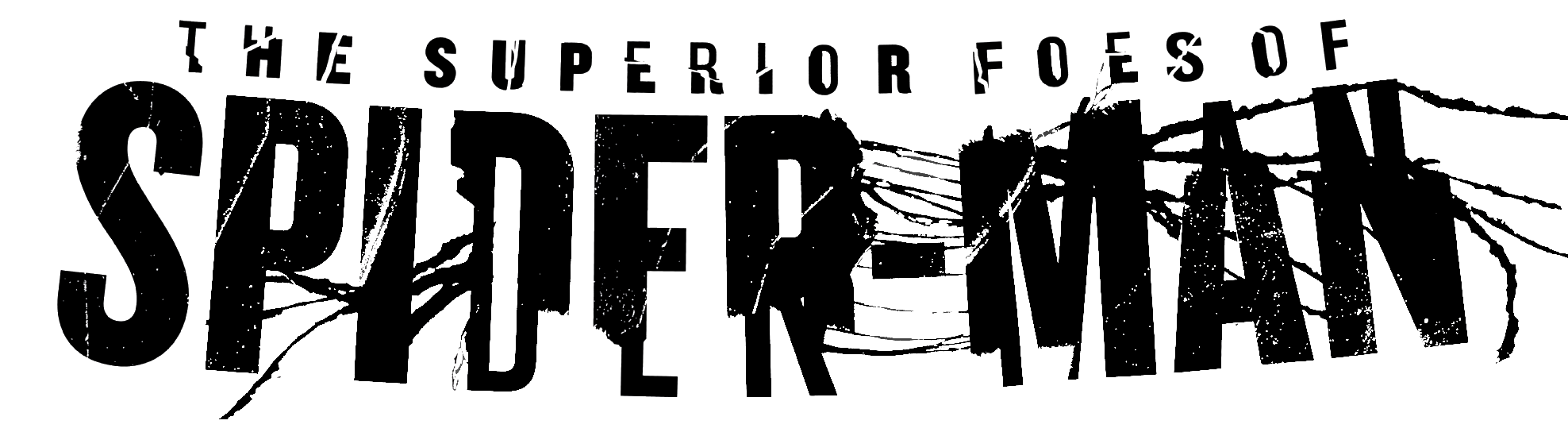 The Superior Foes Of Spider Man (2013) Logo.png - Spiderman, Transparent background PNG HD thumbnail