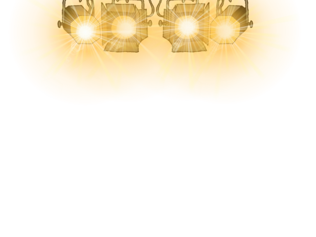 Stage Lights PNG HD