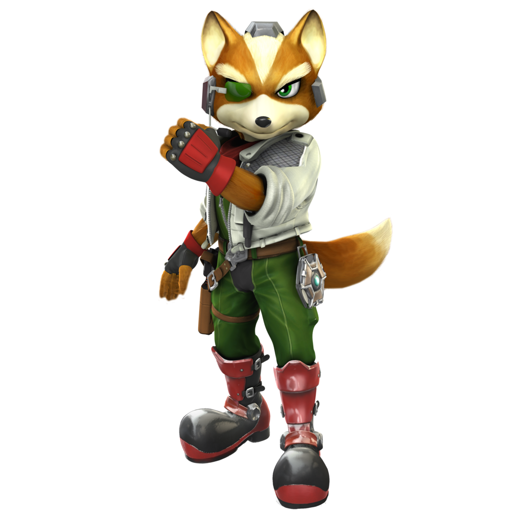 Star Fox A And M: Brawl/ssb4 Outfit By Nibroc Rock - Star Fox, Transparent background PNG HD thumbnail