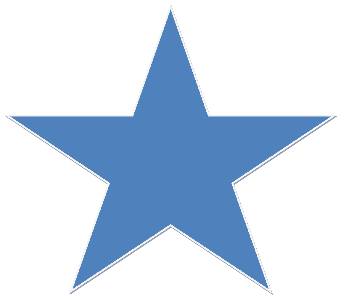File:a Blue Star.png - Star, Transparent background PNG HD thumbnail