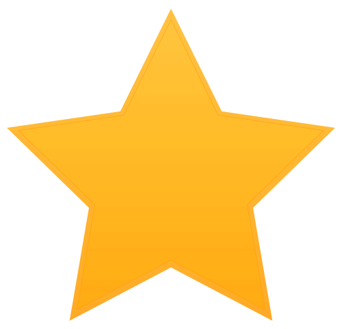 Star Vector Png Transparent Image - Star, Transparent background PNG HD thumbnail