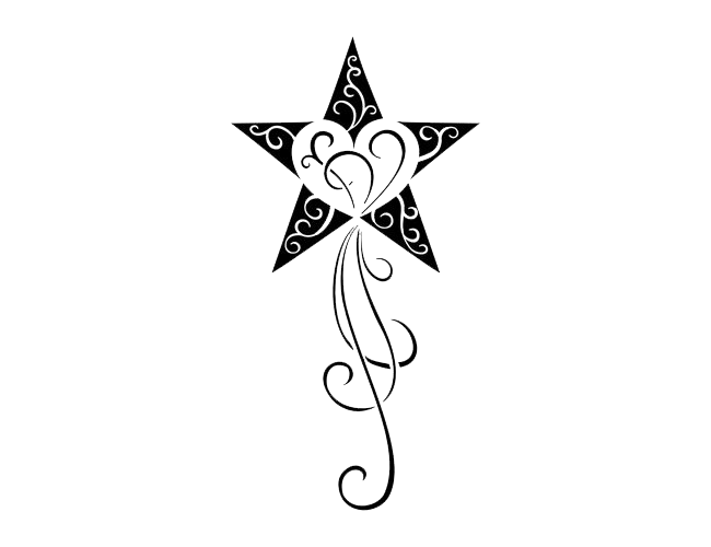 Star Tattoos Transparent Png Image - Star Tattoos, Transparent background PNG HD thumbnail