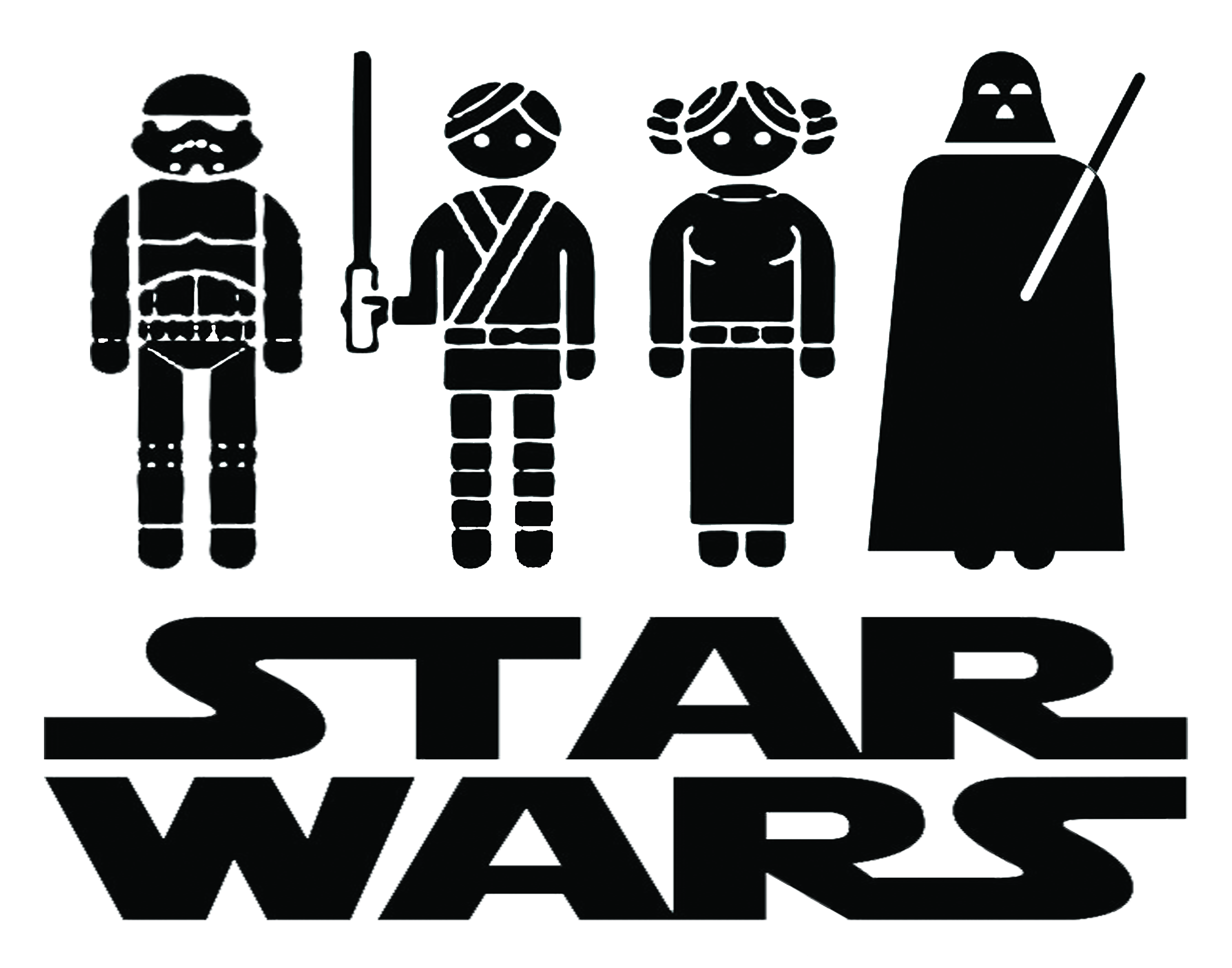 Right Click This Link And Choose U201Csave Asu201D For Jpg - Star Wars Black And White, Transparent background PNG HD thumbnail