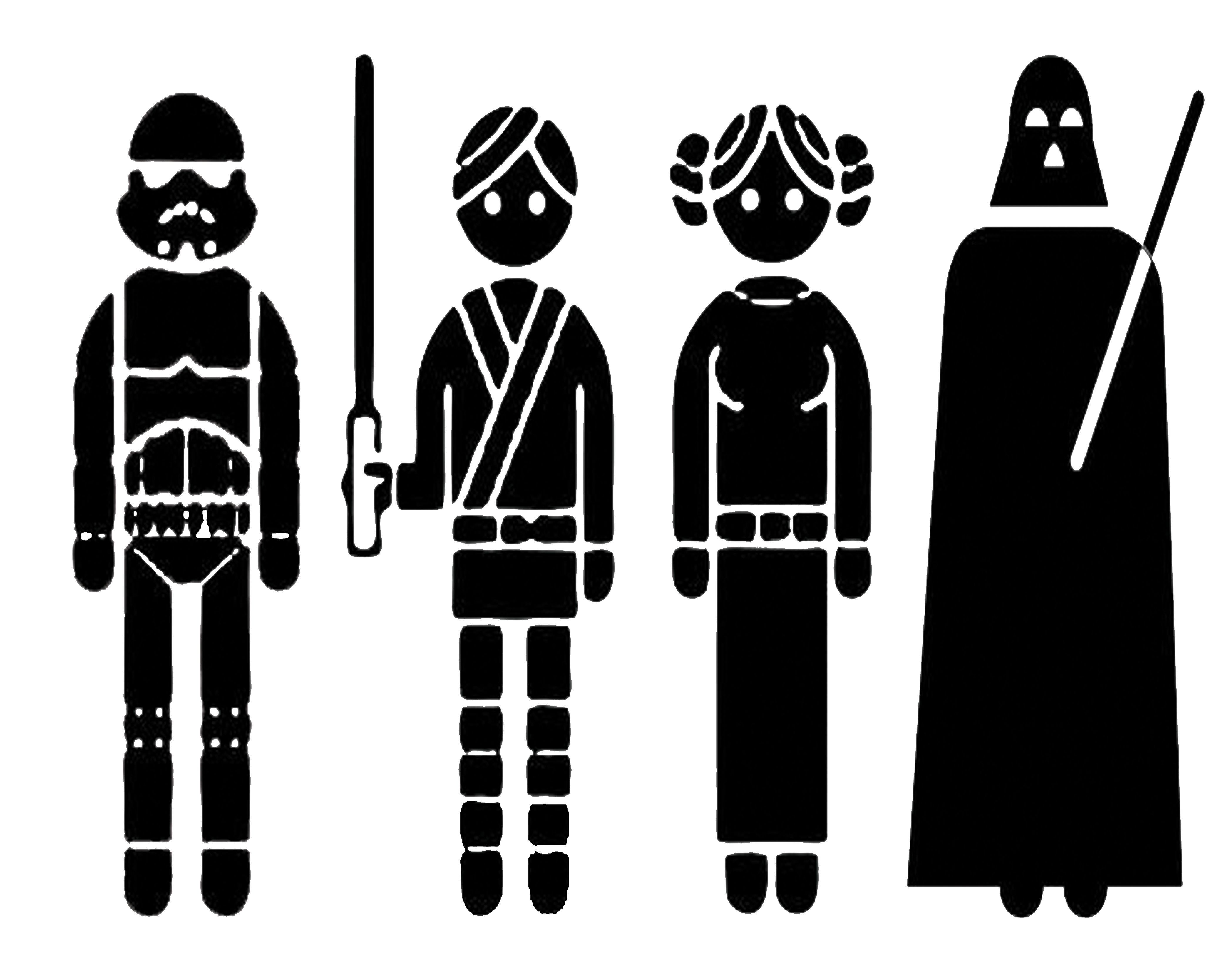 Right Click This Link And Choose U201Csave Asu201D For Png. Ttu0026J Cricut Star Wars R2D2 - Star Wars Black And White, Transparent background PNG HD thumbnail