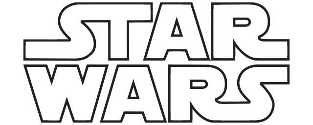 Star Wars - Star Wars Black And White, Transparent background PNG HD thumbnail
