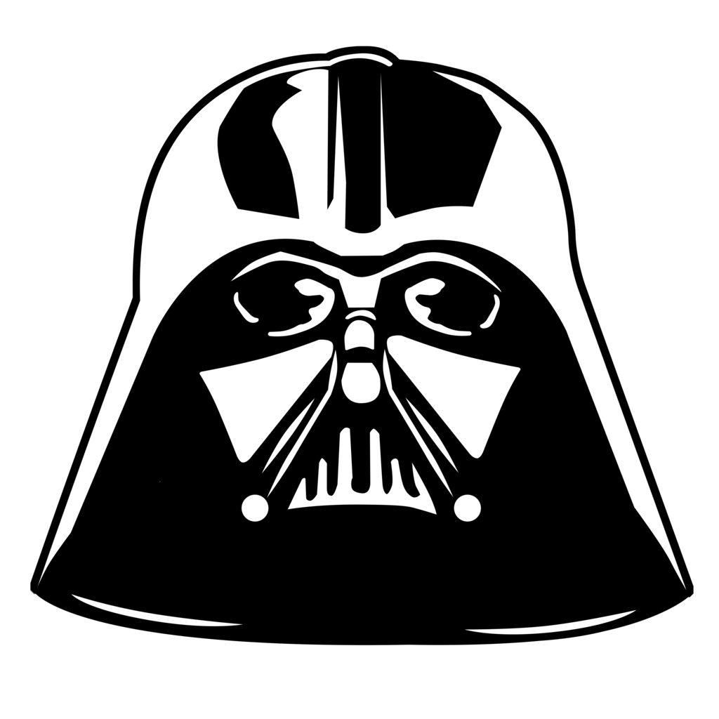 Star Wars Clipart Png   Google Search - Star Wars Black And White, Transparent background PNG HD thumbnail