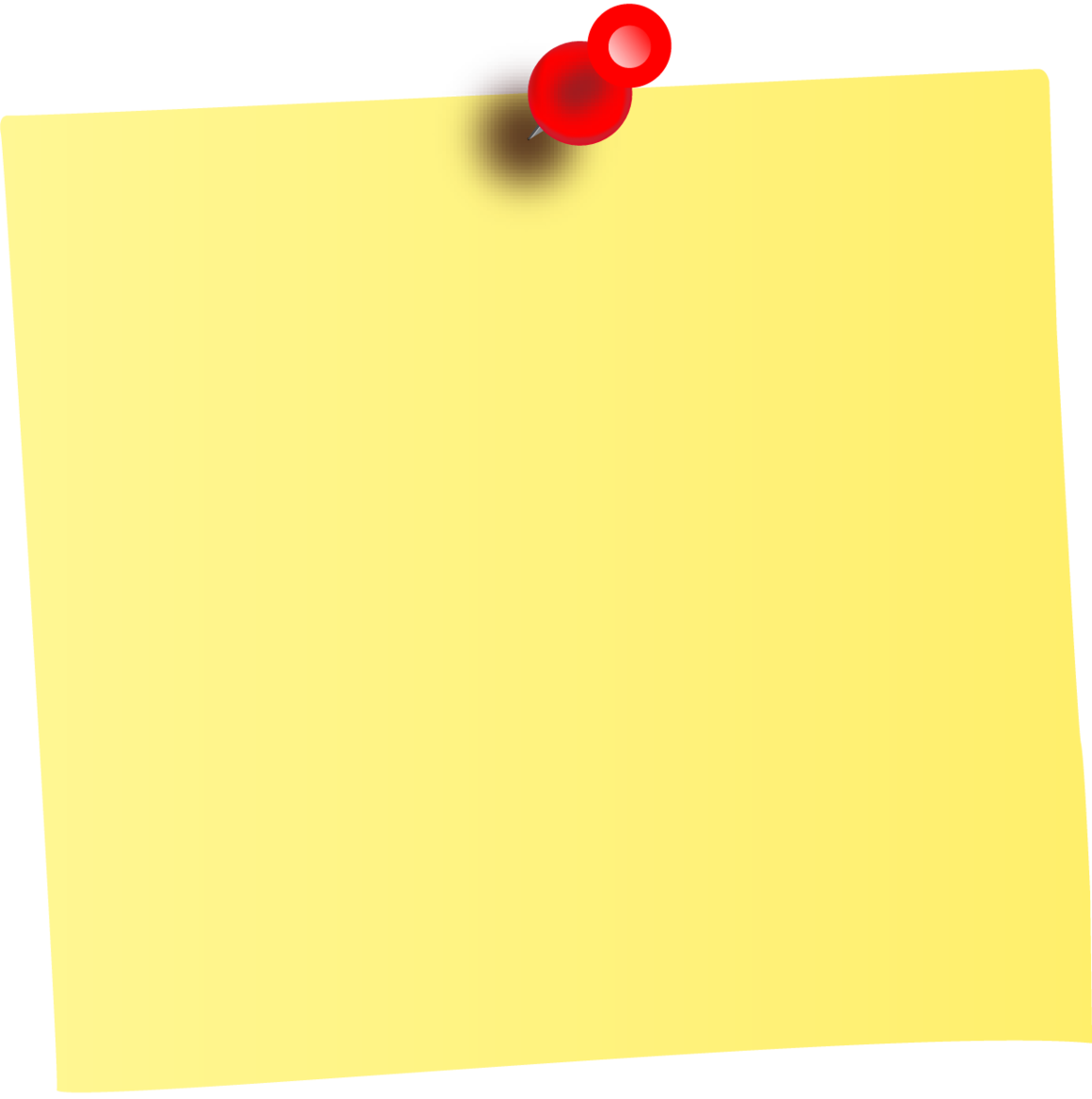 Stickynotes HD PNG