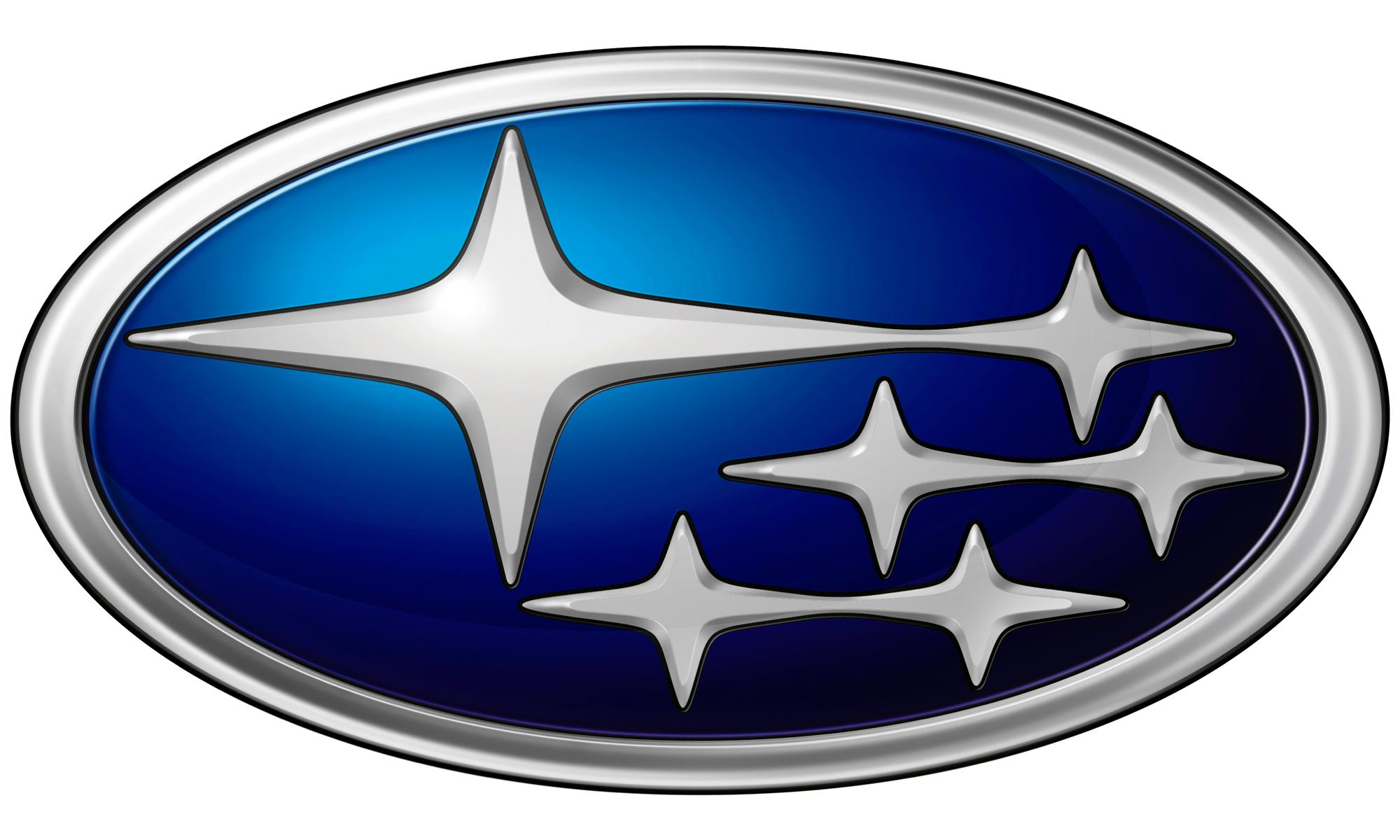Subaru Car Logo Png Brand Image - Car, Transparent background PNG HD thumbnail