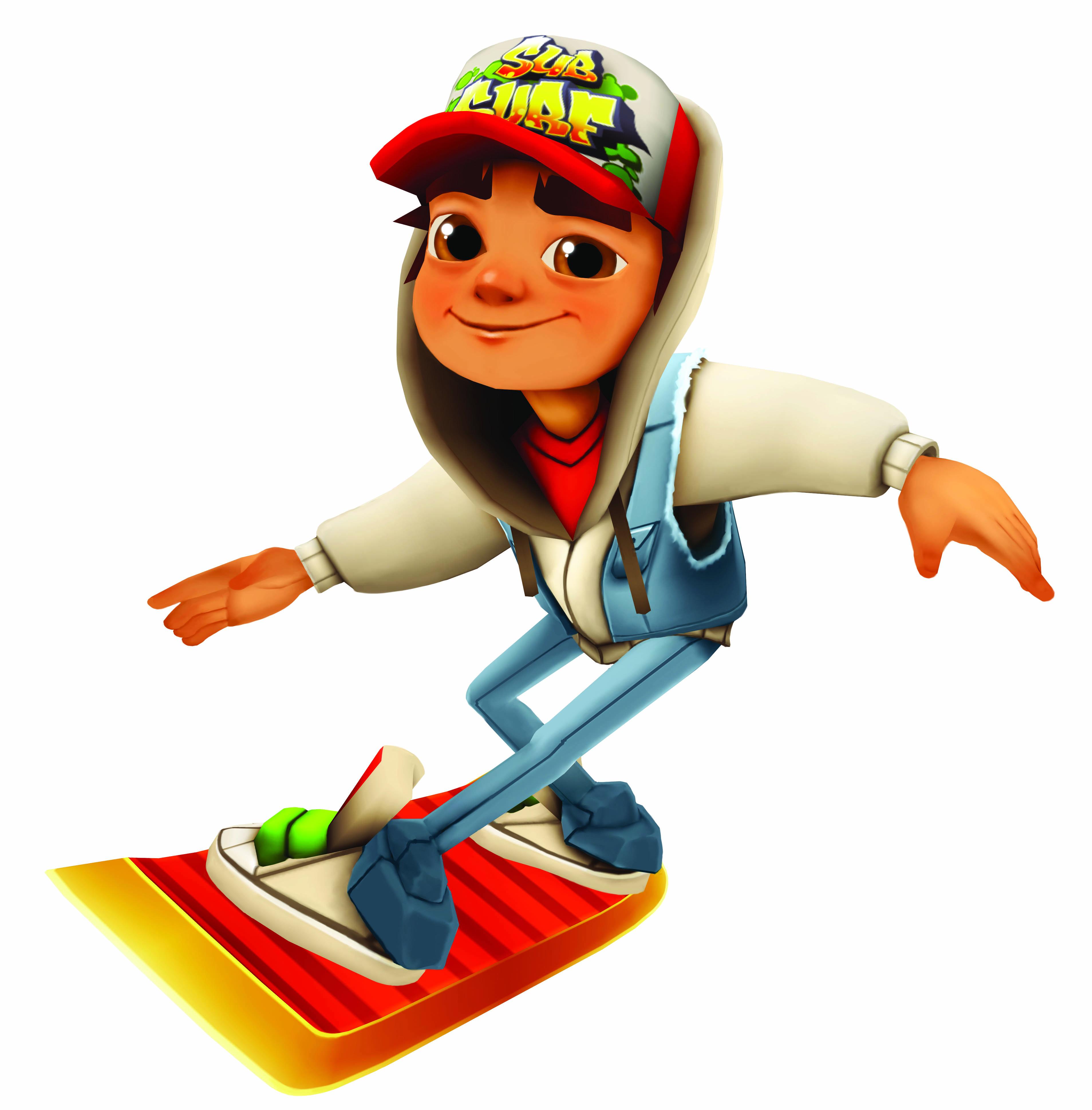 Subway Surfer HD PNG