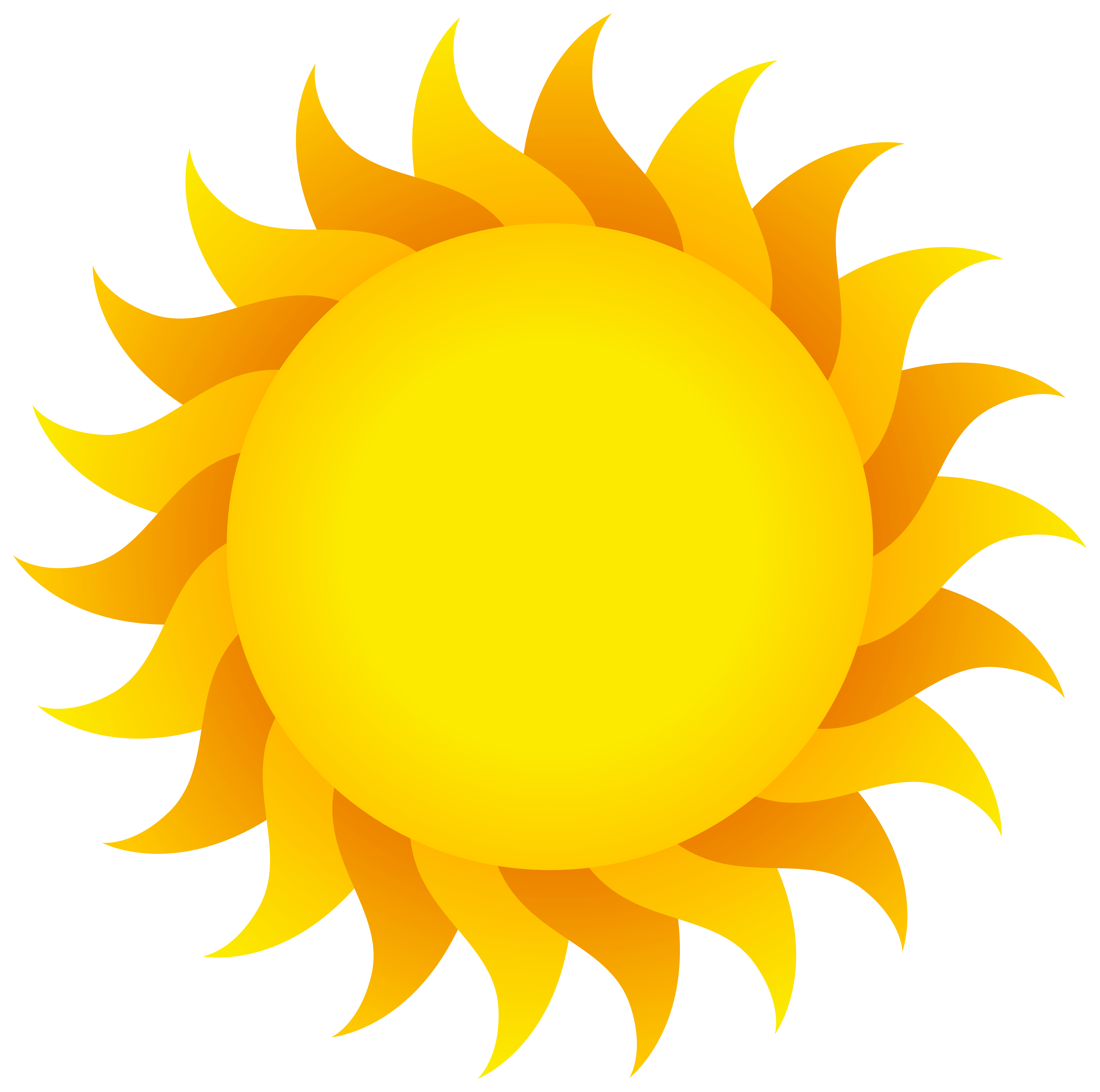 Sun PNG Clear Background