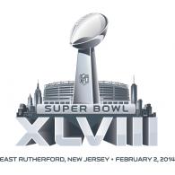 Logo Of Super Bowl Xlviii - Super Bowl Vector, Transparent background PNG HD thumbnail